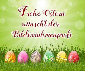 Frohe Ostern wünscht der Bilderrahmenprofi aus Zwickau